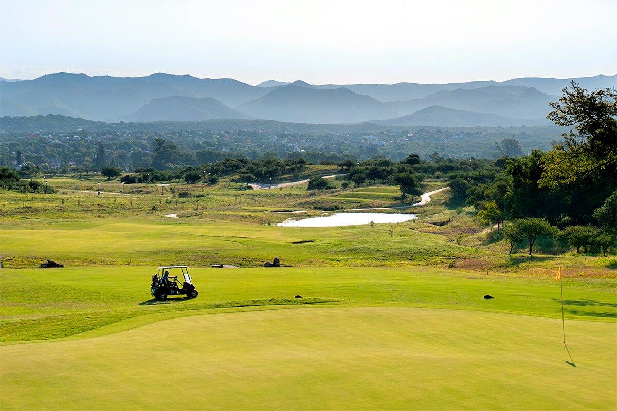 Campo de golf de El Terrón Golf Club donde se jugará Terrón Amateur.