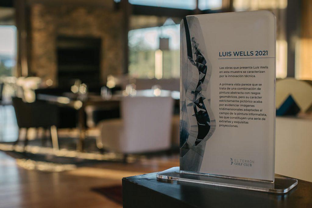 INAUGURACION DE LA MUESTRA DE LUIS WELLS