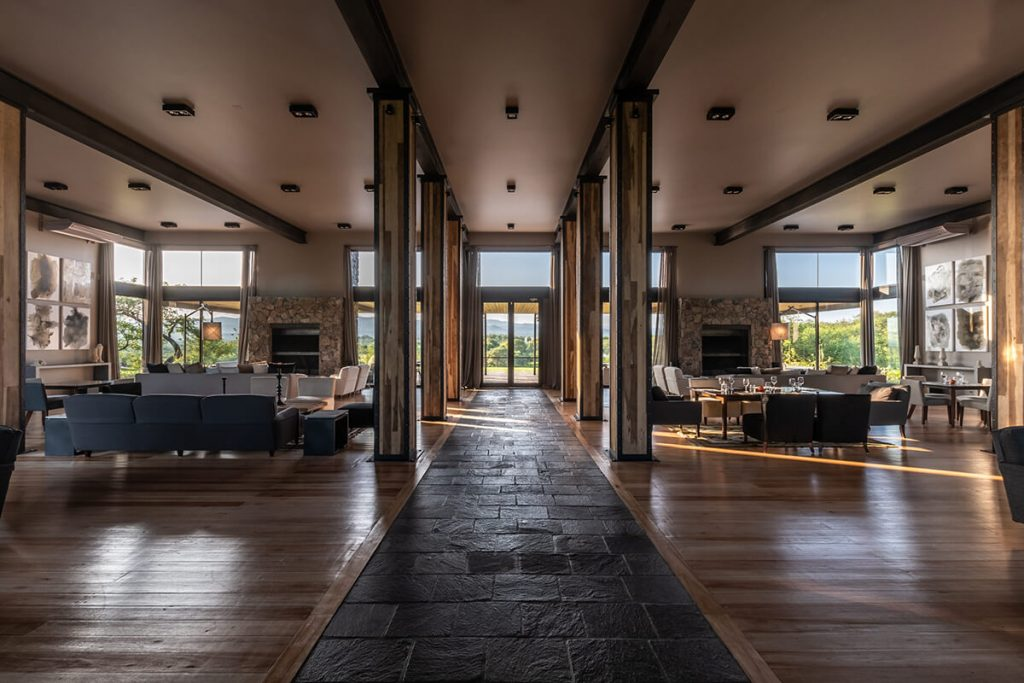 Interior del Club House
